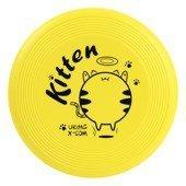 Miękkie, piankowe FRISBEE X-COM UK105 GRAFF Kitten YELLOW KIDS