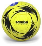 Piłka ręczna Smj Sport Samba Top Grippy IHF 1 New - yellow/black