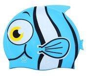 Czepek basenowy silikonowy dziecięcy Rybka F01