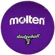 DB2-V Piłka gumowa Molten dodgeball size 2