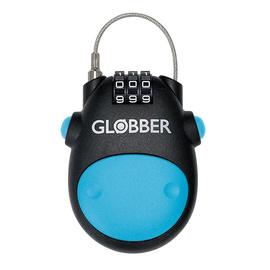Globber Lock zapięcie zabezpieczające linka kłódka na szyfr 532-101 niebieskie