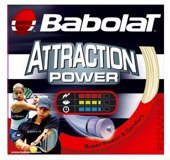 Naciąg Babolat Attraction power 1.25 SET 12m