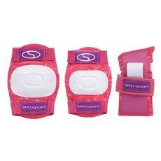 Ochraniacze dla dzieci, komplet CR-600 różowe