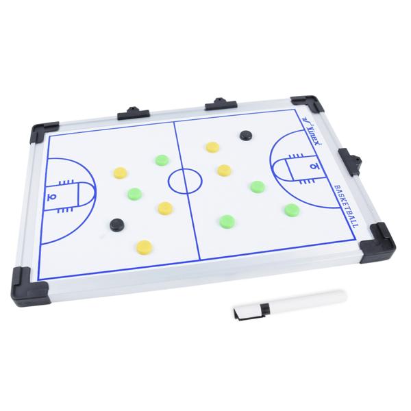 Dwustronna tablica taktyczna magnetyczna VMTB-B4530 koszykówka