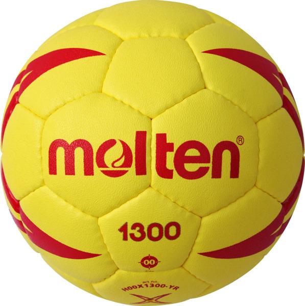 H00X1300-YR Piłka ręczna Molten 1300 miękka