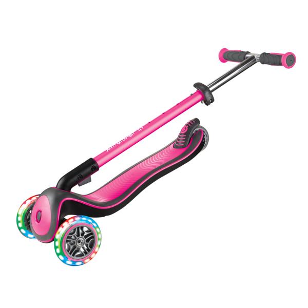 Hulajnoga 3-kołowa Globber Elite Deluxe 444-410 deep pink