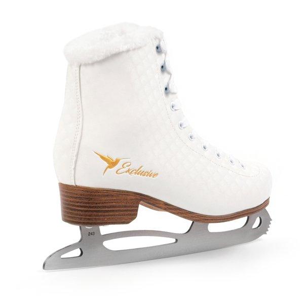 Łyżwy figurowe SMJ sport  Exclusive białe