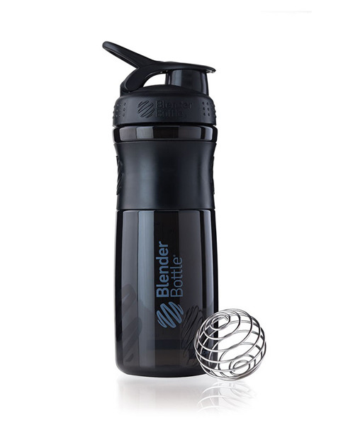 Shaker do odżywek Blender Bottle SportMixer 830ml czarny